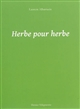 HERBE POUR HERBE